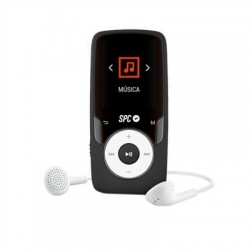 SPC Reproductos MP4 Pure SoundExtreme 8GB Negro