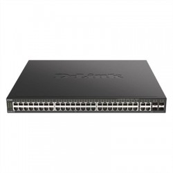 D-Link DGS-2000-52MP Switch L2 48xGB PoE 4xGbE/SFP