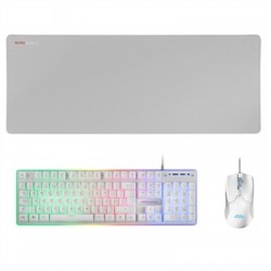 Mars Gaming Combo MCPX GAMING 3IN1 RGB WHITE PT