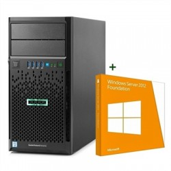HPE ProLiant ML30 Gen9 E3-1220v6 8GB+WS Foundation