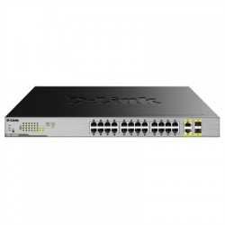 D-Link DGS-1026MP Switch 24xGB PoE+ 2xSFP