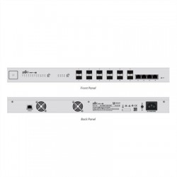 Ubiquiti UniFi Switch US-16-XG 12x10GB SFP+ 4x10GB