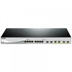 D-Link DXS-1210-12TC Switch L2 8x10GB 2xSFP