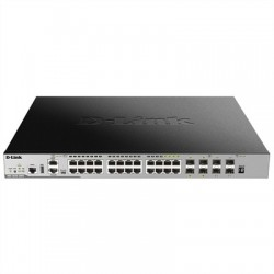 D-Link DGS-3630-28PC Switch L3 20xGB PoE 4xSFP