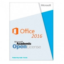 Microsoft Office Standard 2016 vers.Acad. OPEN