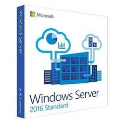 Microsoft  Windows Server Std 2016 16core 64B OEM