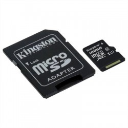 Kingston SDCS/128GB micro SD XC clase 10 128GB