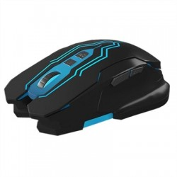 Mars Gaming MM216 Ratón 5000 DPI Negro