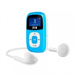 "SPC Mp3 8GB Bluetooth FM Pantalla de 1"" Azul"