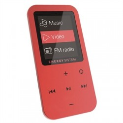 Energy Sistem Reproductor MP4 Touch 8GB Coral