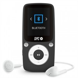 SPC Reproductor MP4+Radio 8578N 8GB Bluetooth Negr