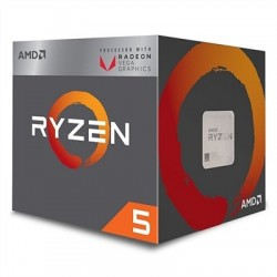 AMD RYZEN 5 2400G 3.9GHz 6MB 4 CORE 65W AM4 BOX