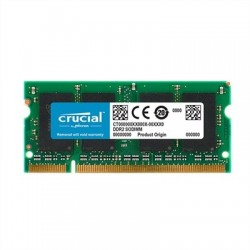 Crucial CT25664AC800 soDim 2GB DDR2 800MHz CL6