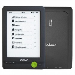 "Billow E03FLC eBook reader 6"" E-Ink 4GB Luz+Funda"