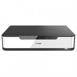D-Link DNR-2020-04P NVR 16 Canales RED PoE 2 Bay