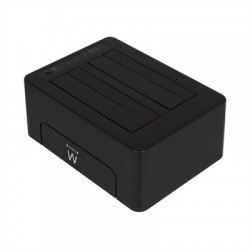 "Ewent EW7014 Dock Station Dual 2.5""-3.5"" USB 3.1"