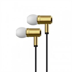 X-One AMI1000G Auriculares In-Ear +mic metal Oro
